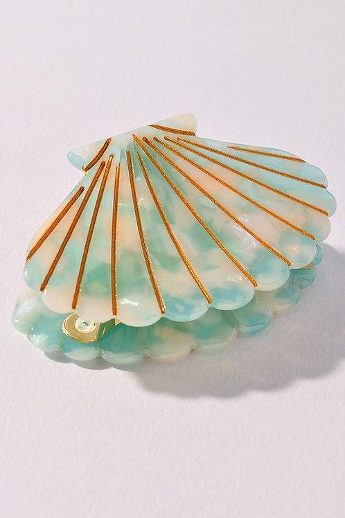 Shell Hair Accessory - Mint