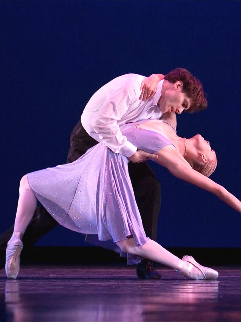 Theater ballet performance