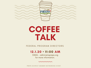 PREPS FEDERAL PROGRAM DIRECTORS 12/1/20 - 11:00 AM