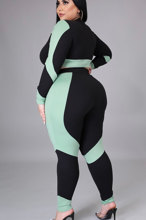 Up and Down Legging set