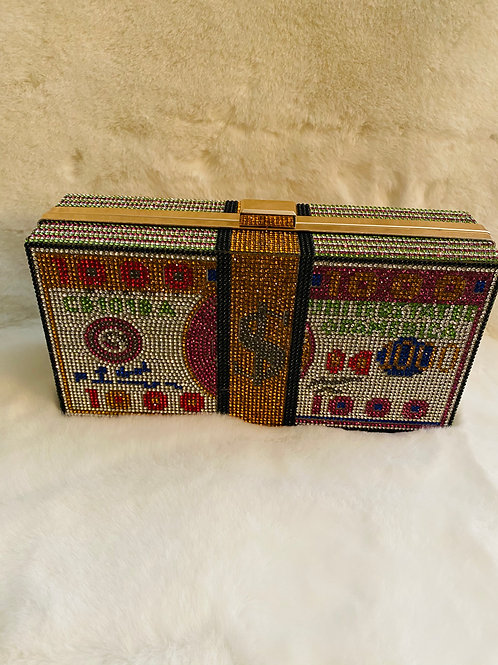 Money Clutch Bag ( Gold )