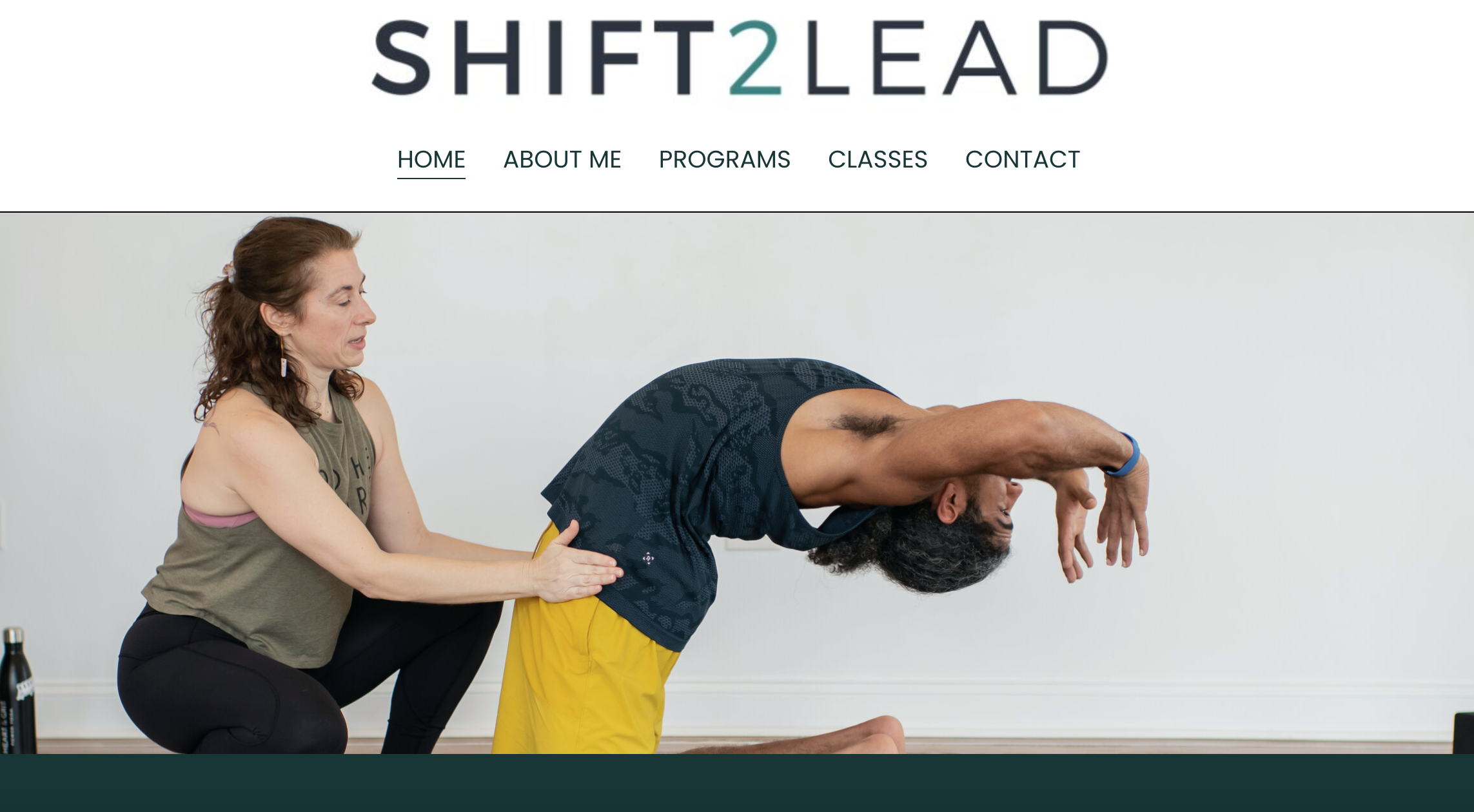 Shift2Lead (Squarespace)