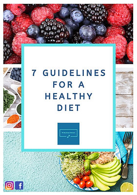 _FRONTPAGE 7 guidelines for a healthy di