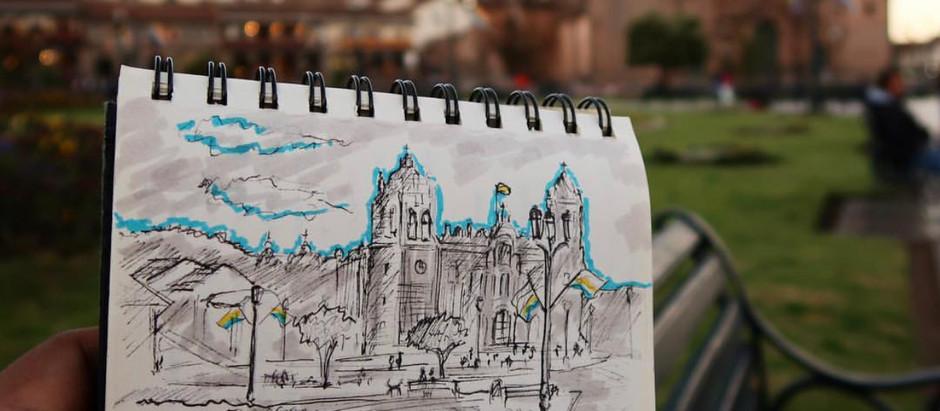 Sketchbook #2: Rincones del Perú