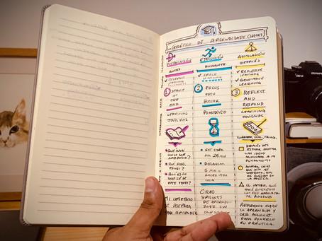 La experiencia de escribir a mano: papel y lápiz