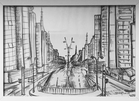 Sketchbook #3: La gran ciudad de São Paulo