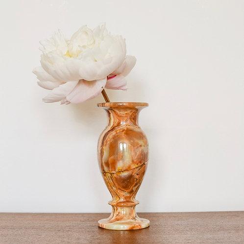 Onyx Stem Vase