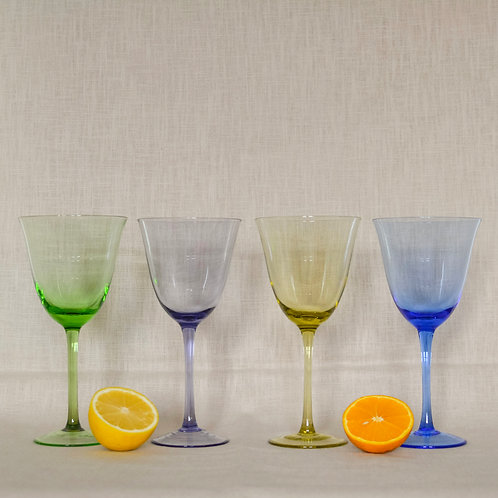Multi Goblet Glasses