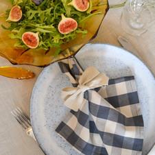 table linen.