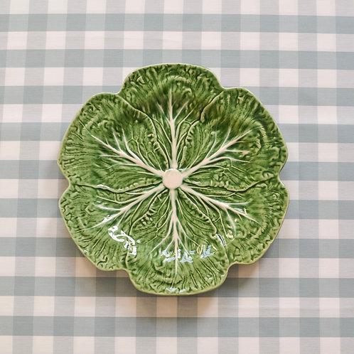 Vintage Portuguese Cabbage Platter