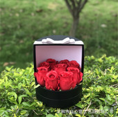 Flower paper box from onepaperbox