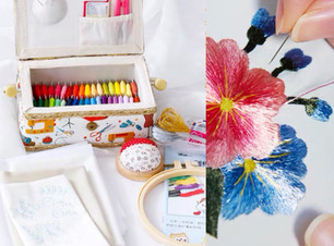 Embroidery accessories from Panda Crafty
