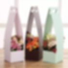 Foral package box and bag