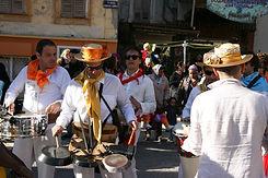 compagnie de carnaval afro-cubain sur Ni