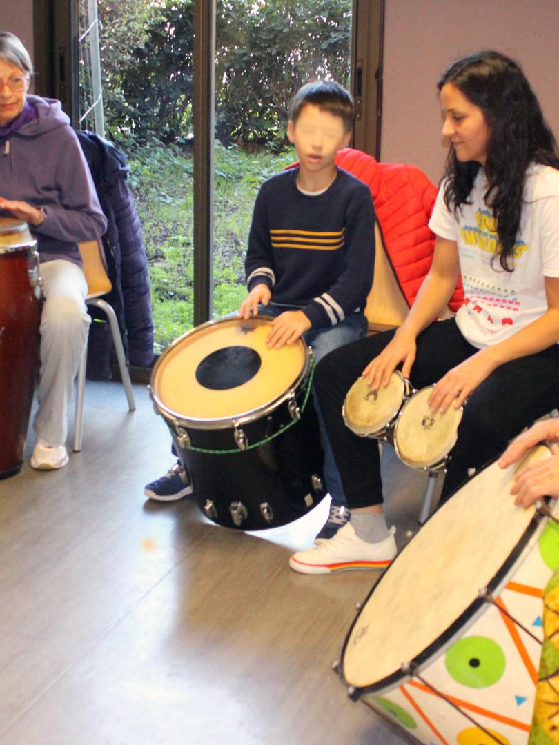 cours de percussions afrocubaines sur Nice