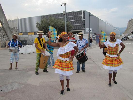 Tropi'karaïbe compagnie de carnaval antillais dans les Alpes Maritimes