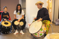 Ateliers percussions Nice