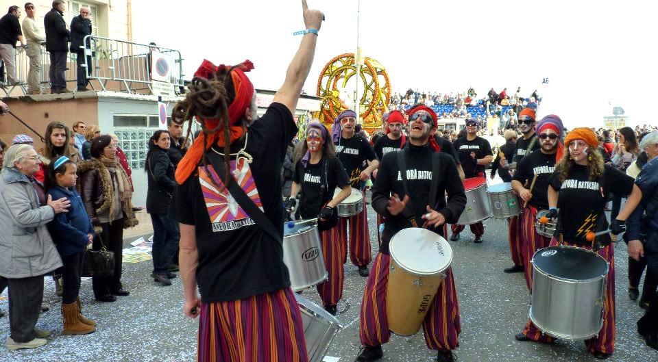 Compagnie Anfora batucada - carnaval de Nice