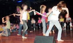 spectacle  percu - danse 11 -12 ans