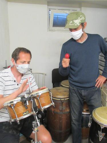 cours de bongos afrocubain