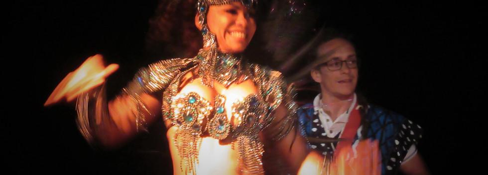 Danseuse brésilienne samba