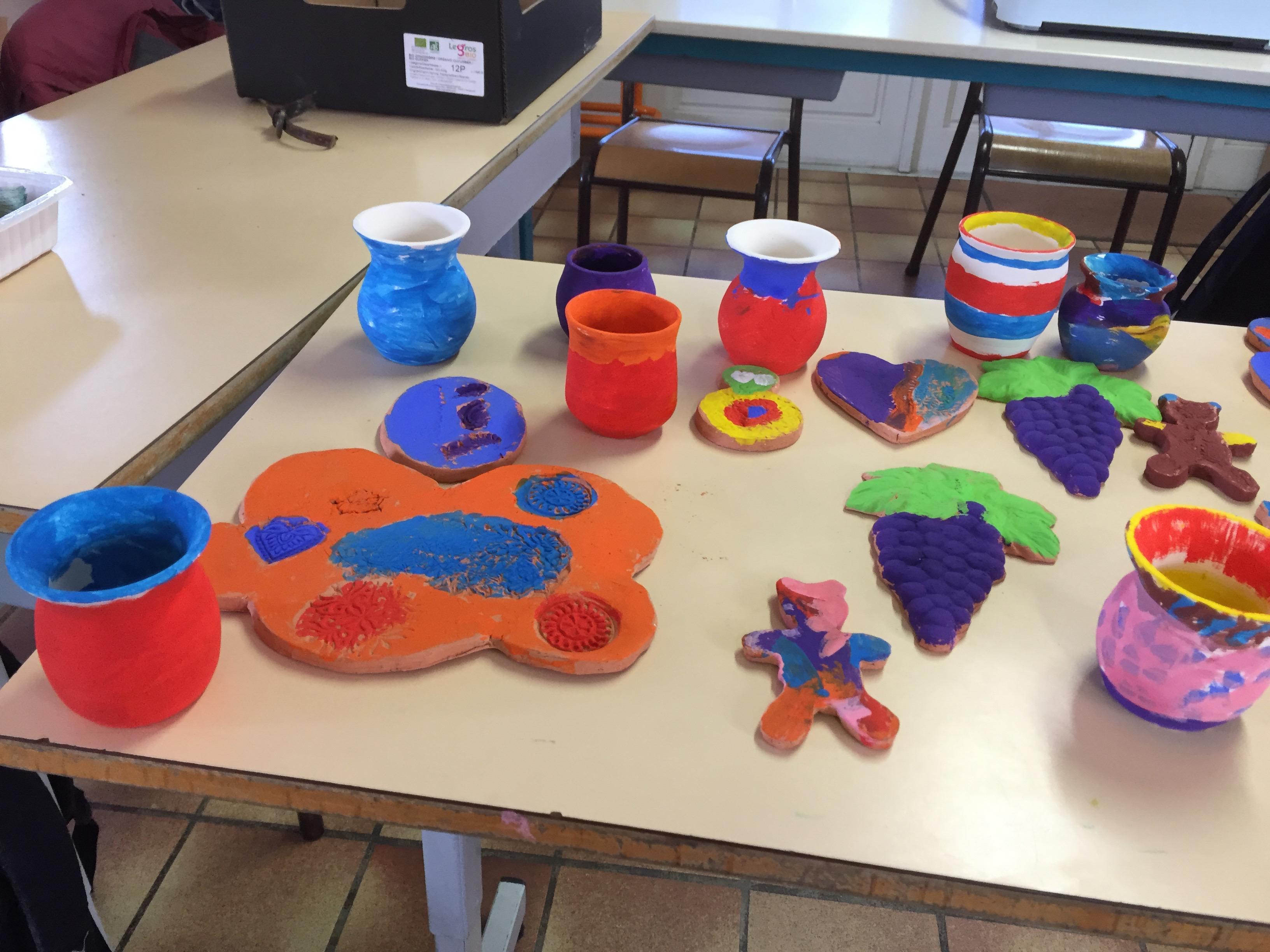 Atelier arts plastiques à domicile
