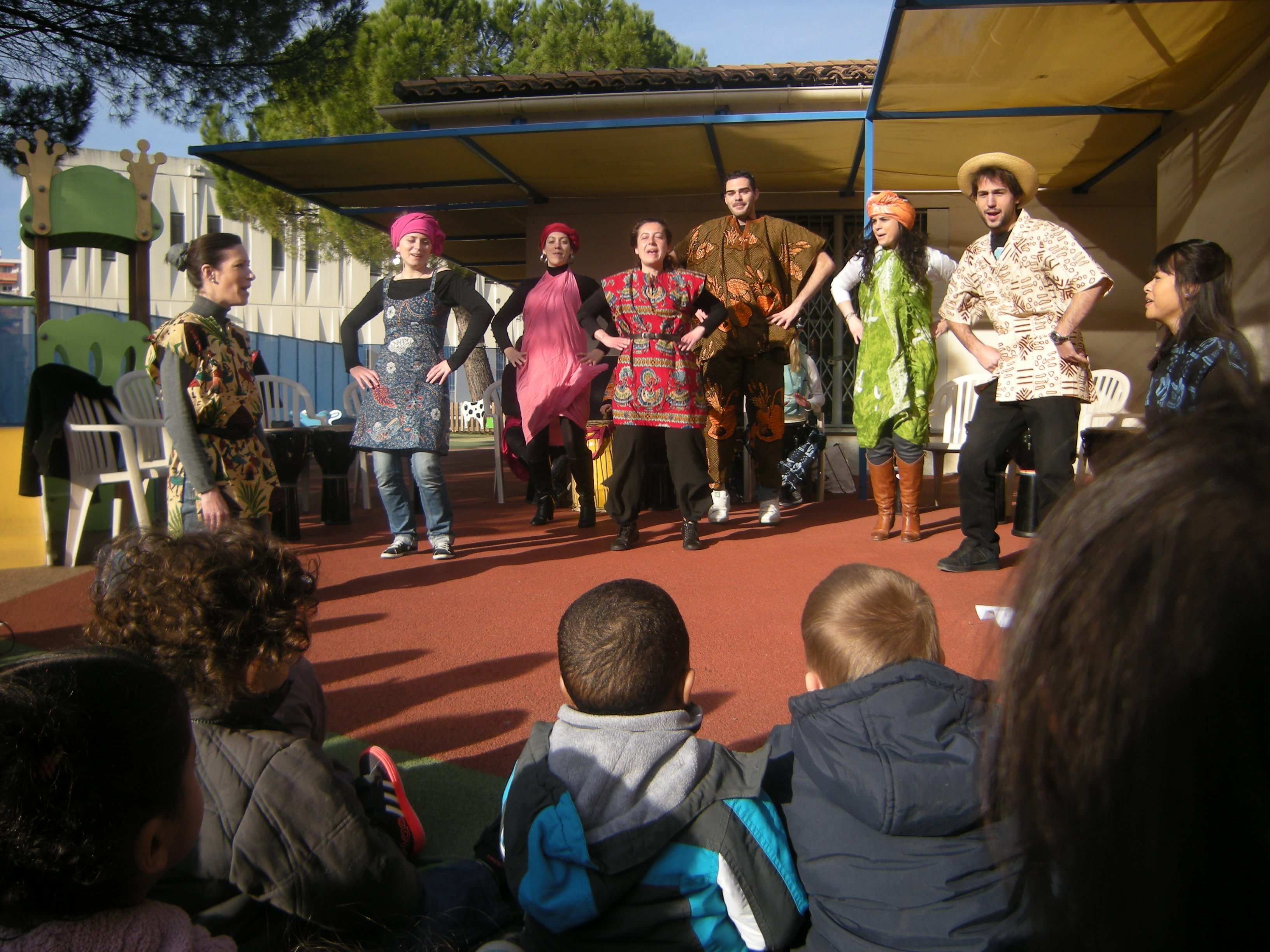 spectacle stagiaires