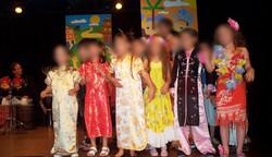 spectacle  percu - chant  7 - 8 ans