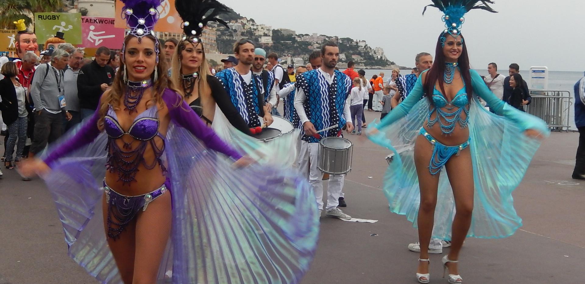Danseuses samba
