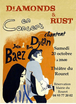 affiche diamond and rust 20 octobre