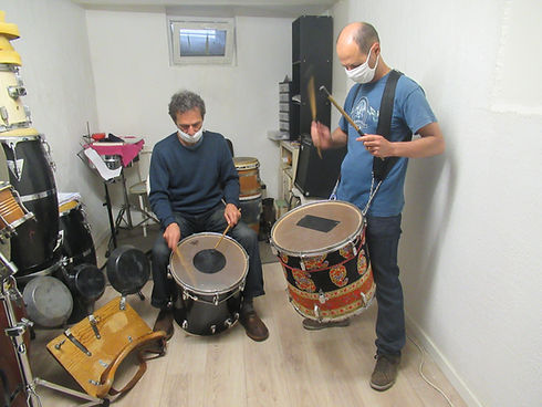 atelier percussions brésiliennes surdos.