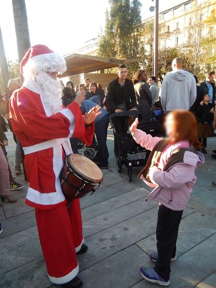 Animation Père Noël à Nice
