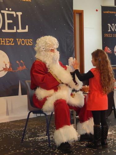 Père Noël sur le 06