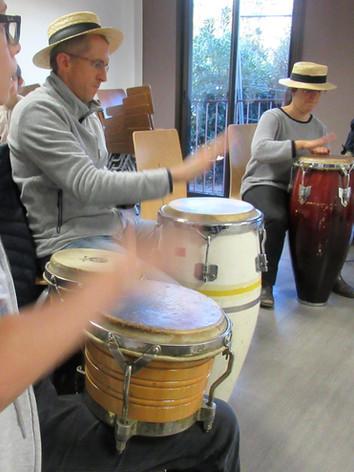 Cours de bongos et congas sur Nice