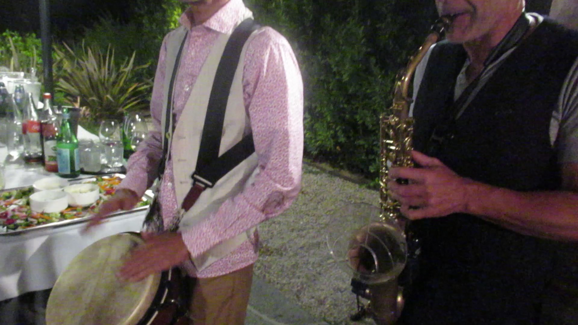 Duo percussioniste et saxophoniste