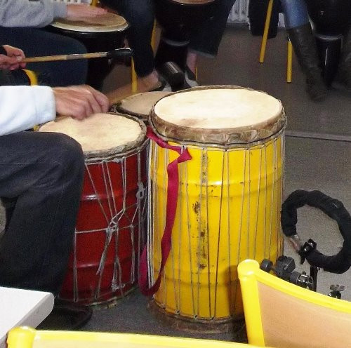 Percussions africaines : dunduns