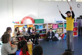 Stage percussions à l'école Buissonnière du Rouret durant les vacances scolaires !