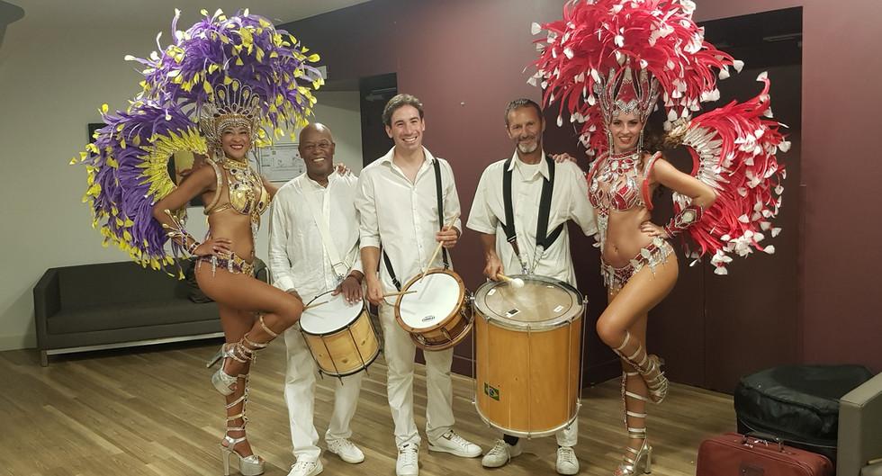 Compagnie Anfora batucada - samba