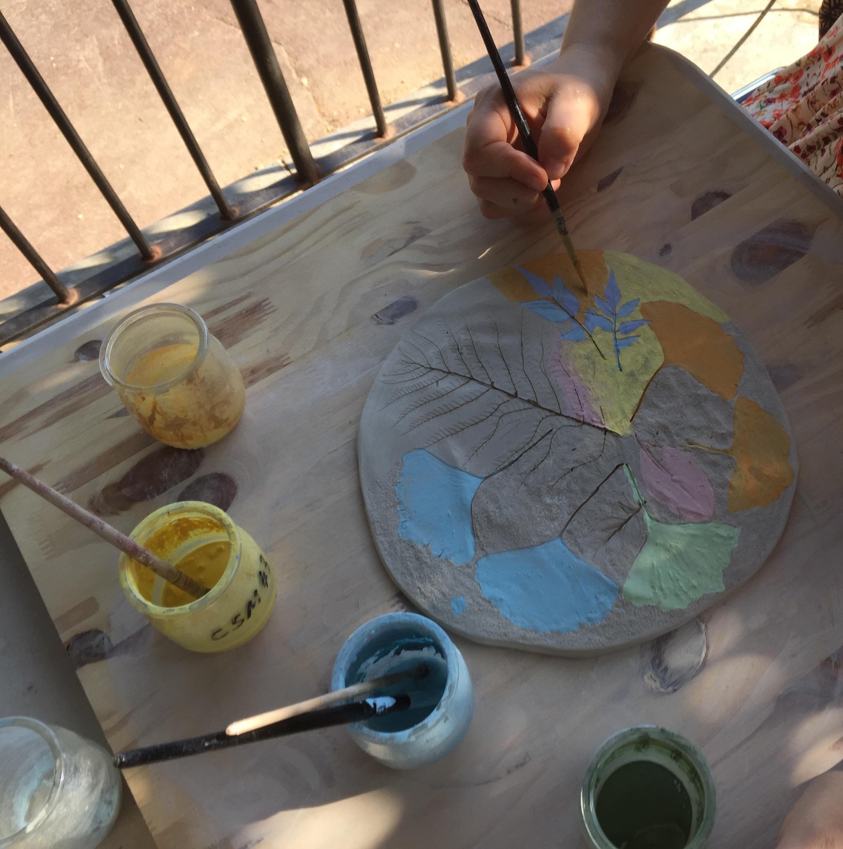 Atelier arts plastiques à Vallauris