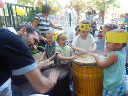 ateliers percussions crèche Nice