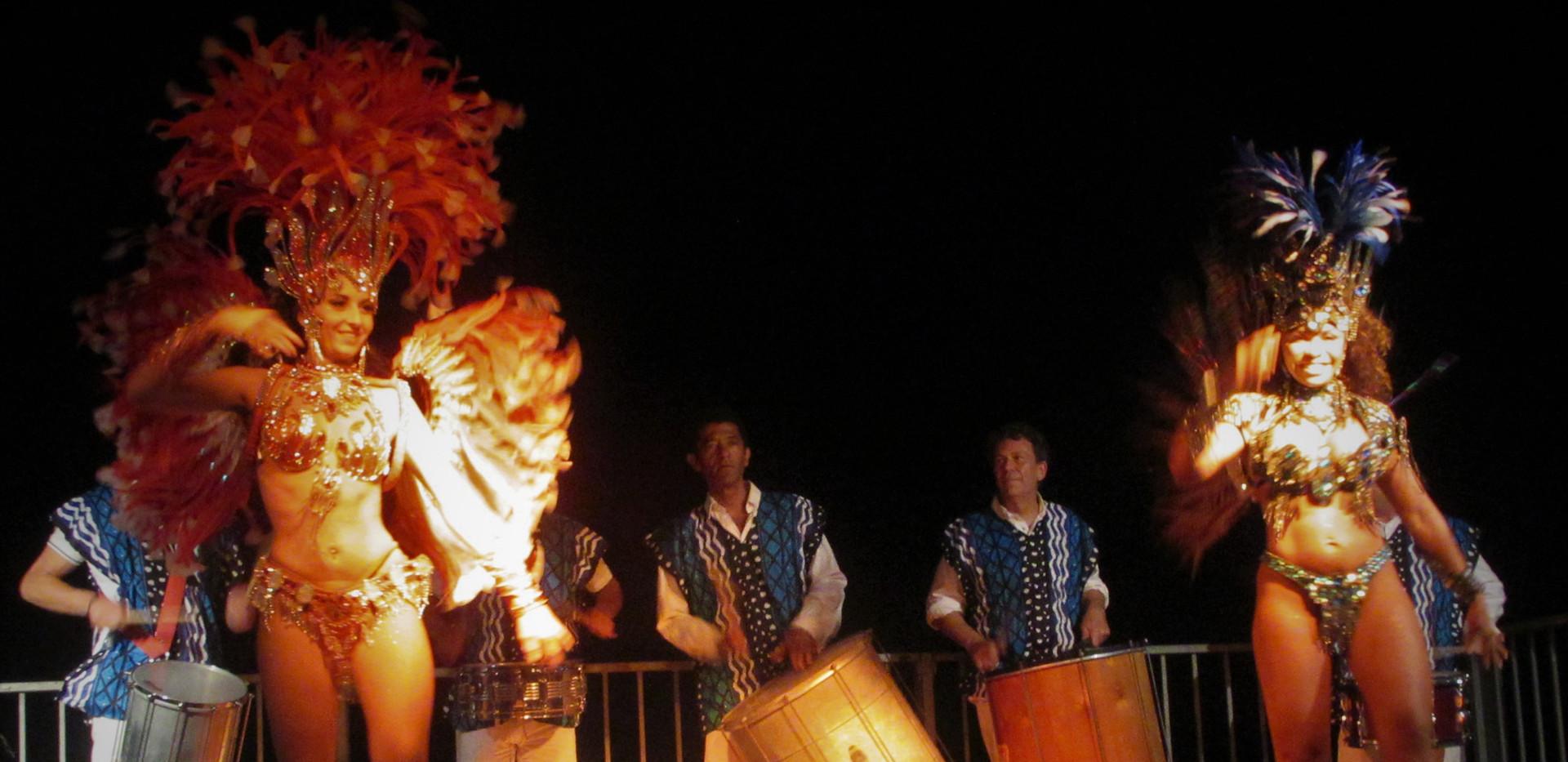 danseuses brésiliennes sur Nice