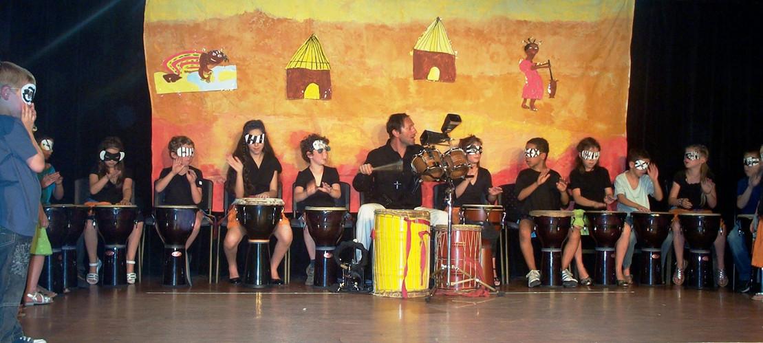 Atelier djembé et spectacle africain