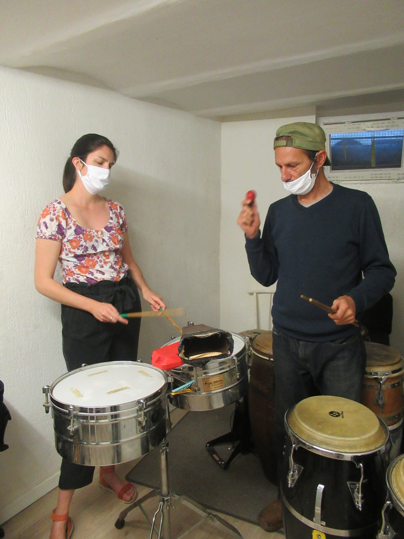 cours timbales justine et philippe.JPG