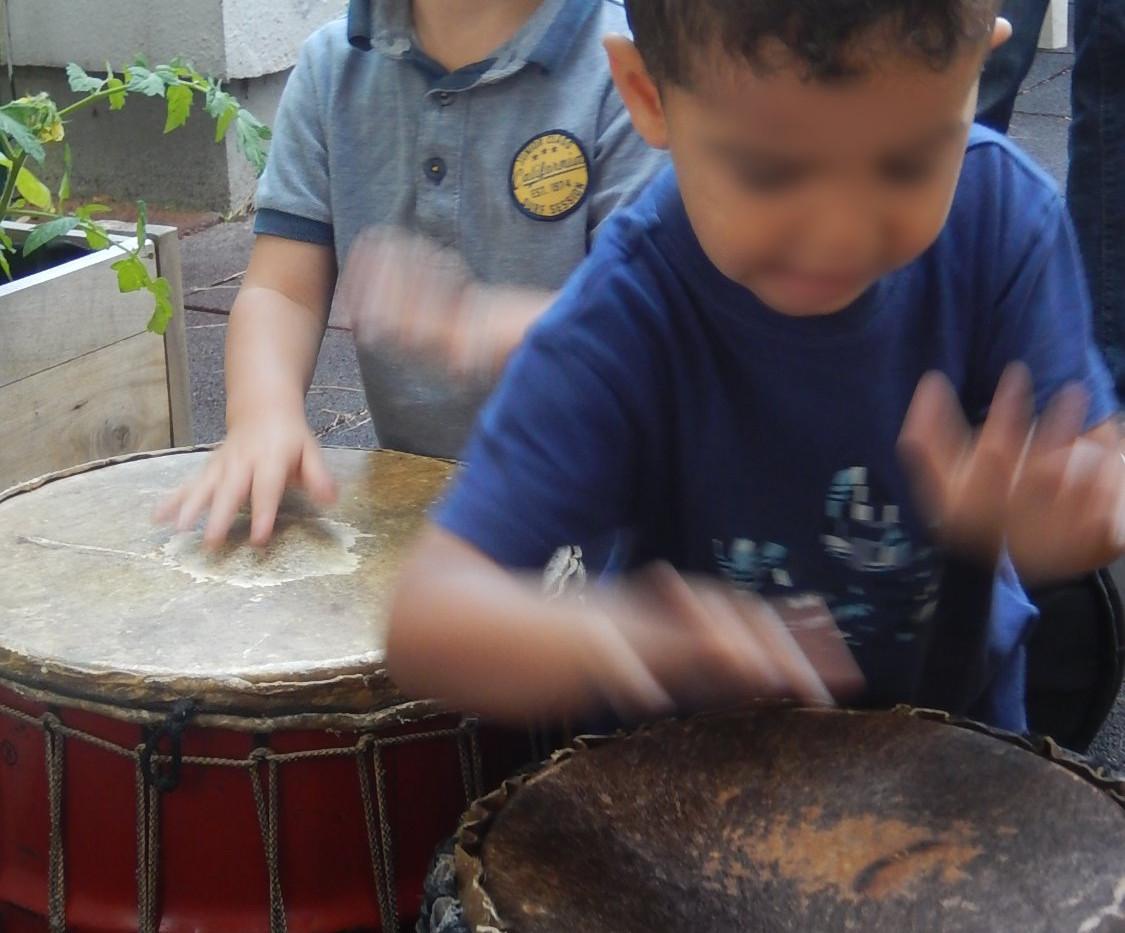 éveil musical percussions pour les enfan