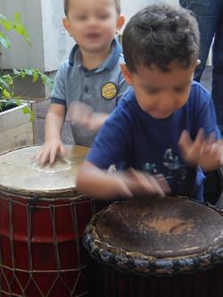 Atelier percussions enfants Nice