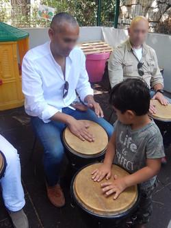 Atelier djembé parents enfants Nice