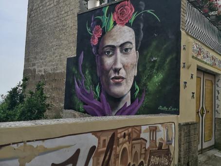 Valogno, nuova vita al borgo con l'arte dei murales