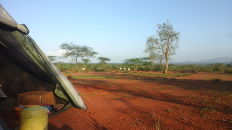 Beautiful spot for camping in Sesia (Samburu)
