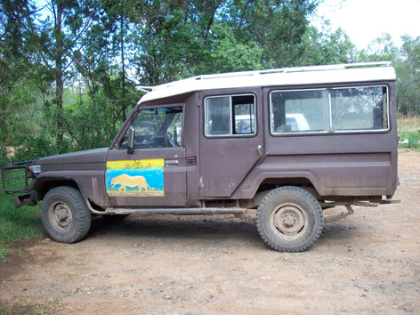 One of the many lovely vehicles I had the pleasure of using over the years in Kenya.