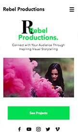 Video website templates – Videoproduktion